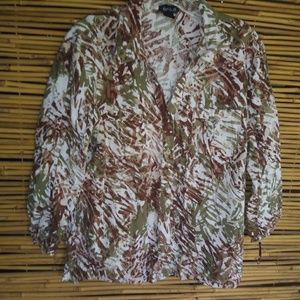 Erika Pocketed Bamboo Top Sz XL Plus